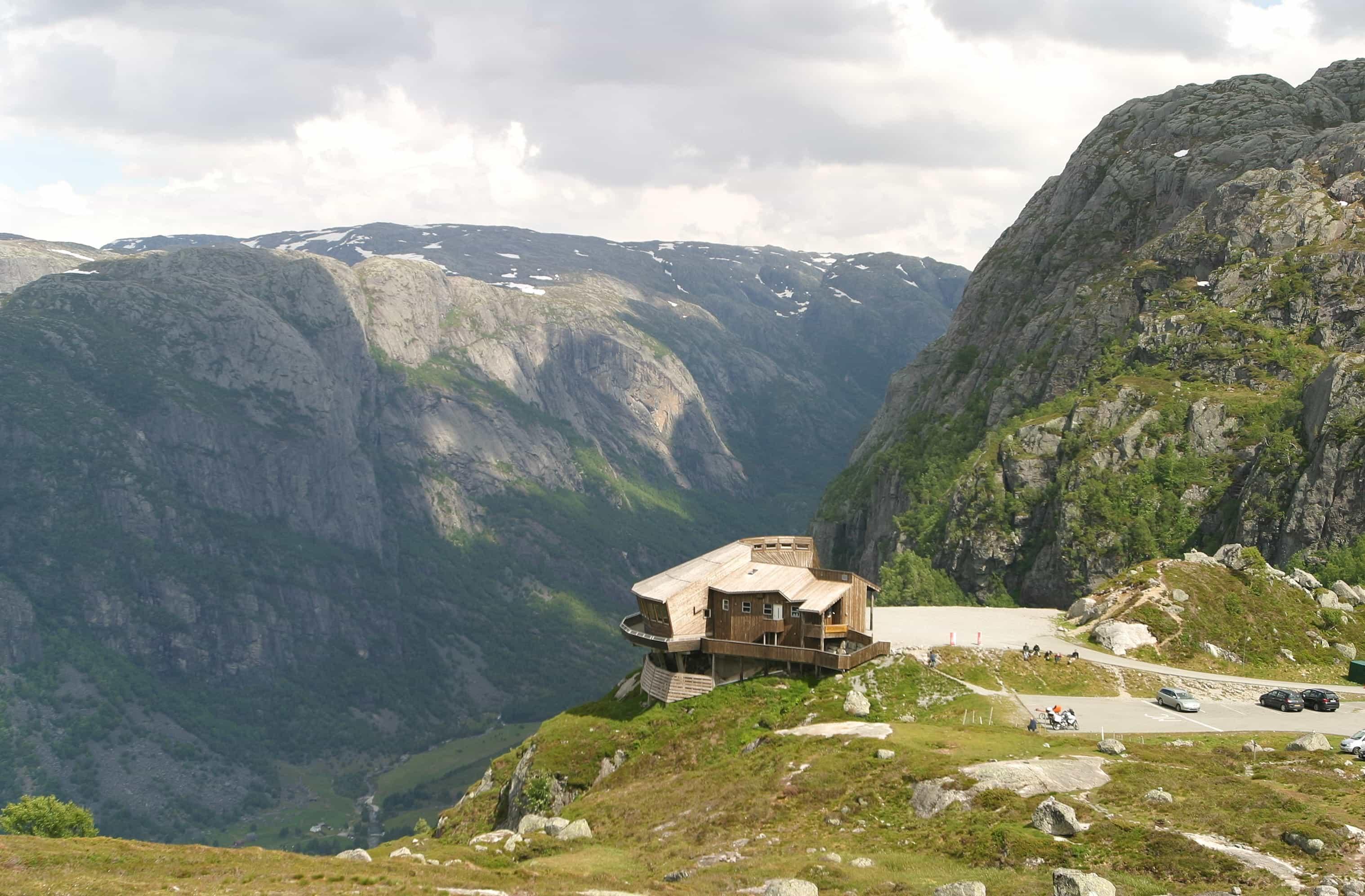 Øygardstøl, starting point for Kjerag hike