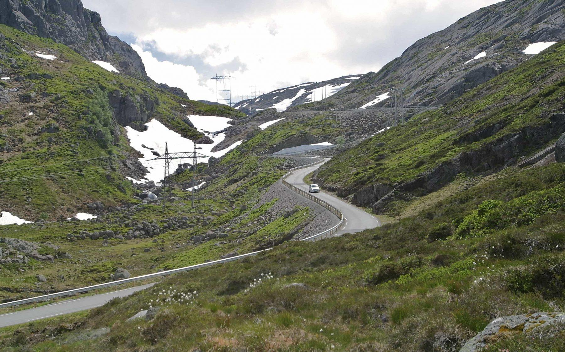 Suleskarvegen / Lysevegen at Øygardstøl