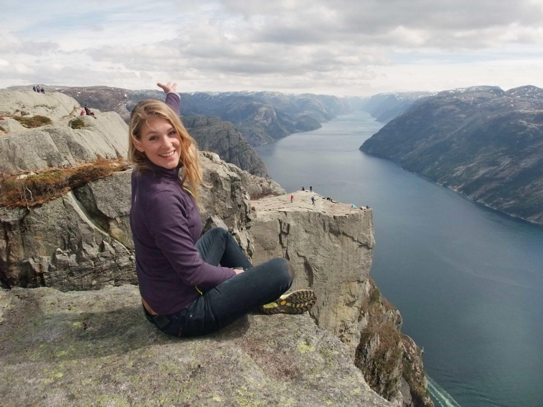 Hiking Around The Lysefjord Fl 248 Rli 4444